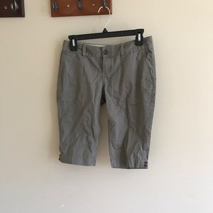 Banana Republic olive Bermuda shorts